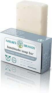 Herbal Choice Mari Natural Handmade Soap Bar, Unscented; 3.2oz