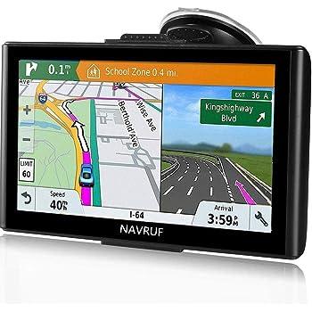 GPS para Coche Pantalla Táctil de 7 Pulgadas Navegador GPS Mapas ...