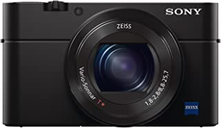 Sony Cyber-shot DSC-RX100M4 - Cámara compacta de 20.1 Mp (Sensor de 1 Exmor RS con 20 MP ZEISS T 24-70mm Visor XGA OLED Selfie LCD Wi-Fi/NFC estabilizador óptico) color negro