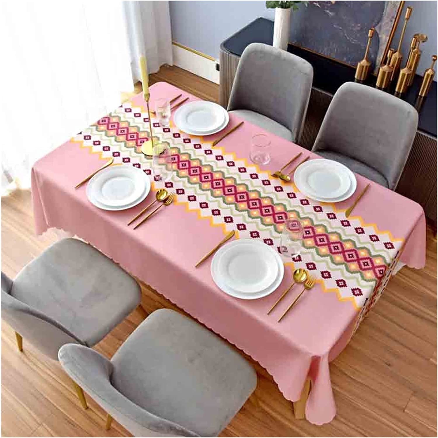 Birds depot Max 73% OFF Living Room Dining Table Resist Tablecloth Decorative Wear