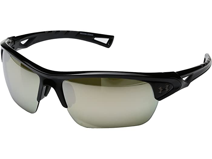 Under Armour Battlewrap Sunglasses /& Cleaning Kit Bundle