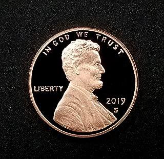 2019 S Gem Proof Lincoln Memorial Cent Penny DCAM US Mint