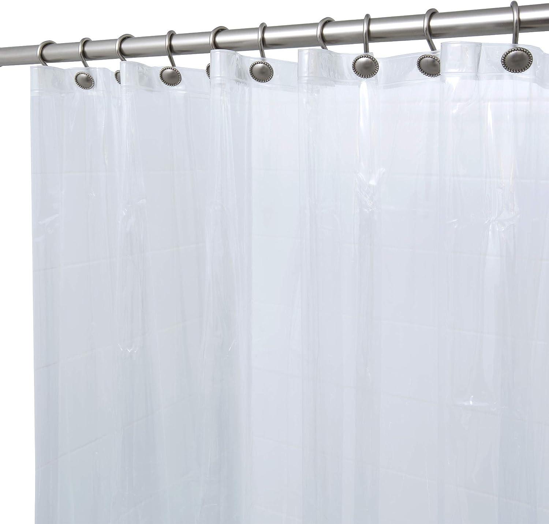 BINO Shower Curtain Liner Clear - Max 81% OFF PEVA x 70