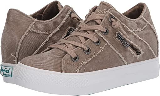 Taupe Hipster Smoked Twill