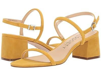 SOLE / SOCIETY Saunye (Mustard) Women
