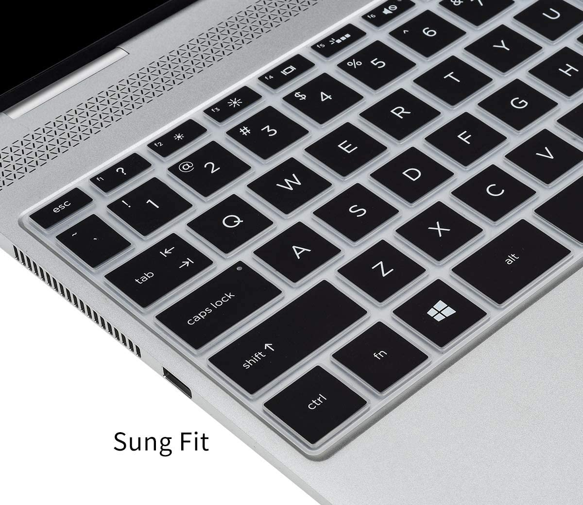Black CaseBuy Keyboard Cover for 2020 2019 HP Envy 13 13.3 inch Laptop aq0005nr aq0044nr aq0045cl //2020 2019 HP Pavilion 13 an1010nr an0031wm HP Envy 13 2020 Keyboard Protector Skin
