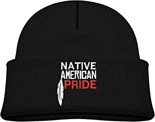 Native American Pride Toddler Baby Lovely Hat Kid Boy Girl Cute Knit Beanies Caps