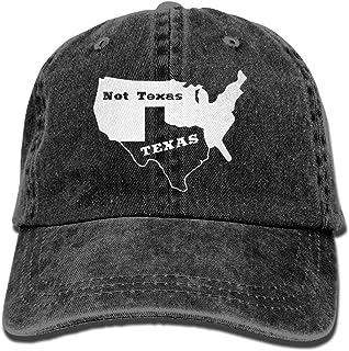 Texas Not Texas Secede Austin Dallas Oil Longhorn Menrsquo;s Womenrsquo;s Cotton Adjustable Jeans Baseball Hat