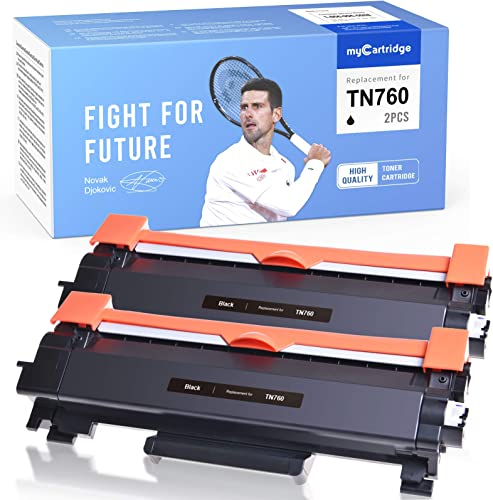 2021 myCartridge wholesale Compatible Toner Cartridge Replacement for Brother TN760 TN730 High Yield outlet online sale Black Fit for Mfc-L2710DW Mfc-L2730DW Mfc-L2750DW HL-L2350DW HL-L2370DW Hl-L2390DW HL-L2395DW DCP-L2550Dw(2 Pack) outlet sale
