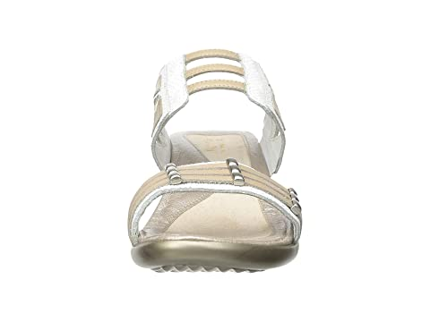 Naot Afrodita White Snake Leather/Satin Gold Leather/Gold Leather Discounts Online Buy Cheap Cheapest Fashion Style Online 7VF7rNti