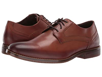 Rockport Style Purpose 3 Plain Toe (Cognac) Men