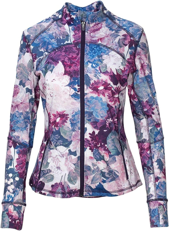 Desigual Women's 18WOEK02MULTI Multicolor Polyester Outerwear Jacket