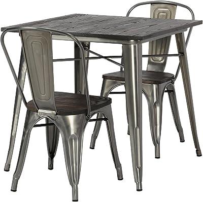 Amazon Com Flash Furniture 31 5 X 63 Rectangular