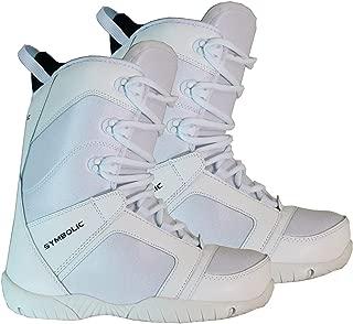 Symbolic Ultra Light WHITE Snowboard Boots Womens 6 7 8 9 10