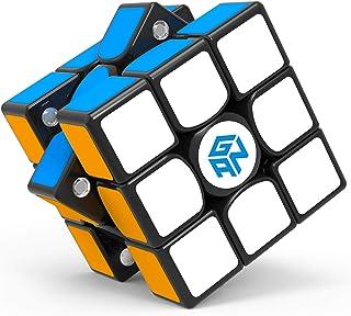 GAN 356 X 3x3 Speed Cube Sticker Magic Cube Gans 356X 3by3 Speed Cube Gan356 X 3x3x3 Magnetic Puzzle Cube for Kids Adults ...