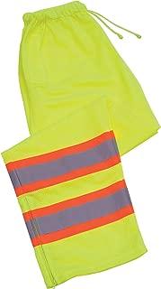 ERB 65026 S210 Class E Pants, Hi-Viz Lime, X-Large