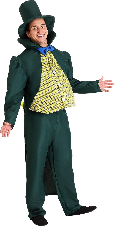 Adult Munchkin Mayor Fancy Dress Costume Medium