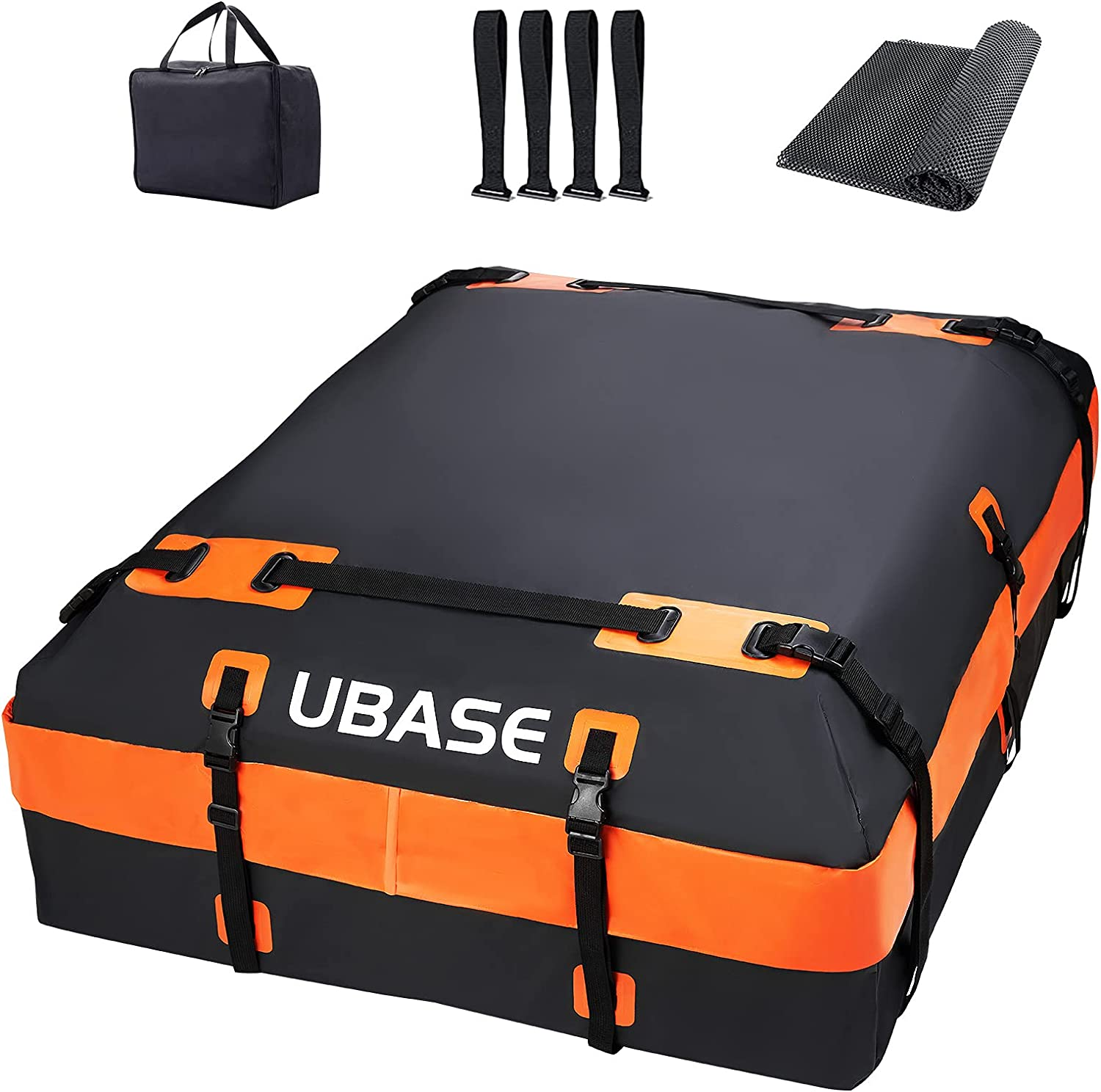 2021 UBASE Upgraded Rooftop Cargo Carrier Cheap mail order sales Cubic Waterpr feet 21 100%