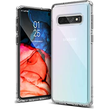 Caseology Waterfall for Galaxy S10 Case (2019) - Minimal & Transparent - Clear