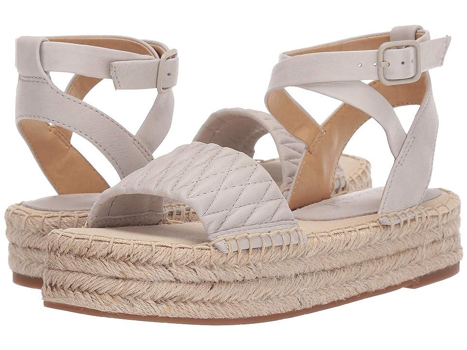 8130a7c5e5e3 Splendid Seward (Light Grey Soft Waxy Leather) Women s Sandals