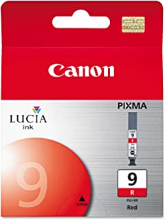 Canon PGI-9R Lucia Ink Cartridge, Red - in Retail Packaging