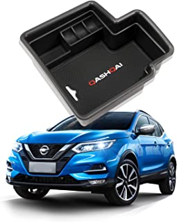 YEE PIN Apoyabrazos Consola Central Almacenamiento Caja Compatible con Nissan Qashqai J11 2014-2018 (