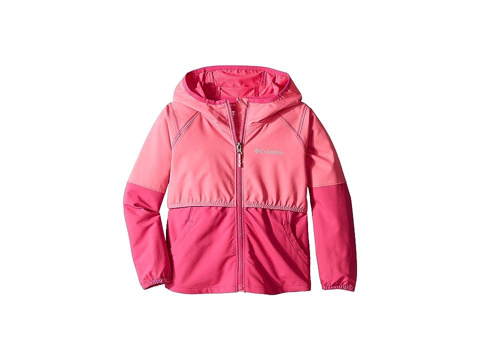Columbia Kids Hidden Canyontm Softshell Jacket (Little Kids/Big Kids) (Wild Geranium/Haute Pink) Girl