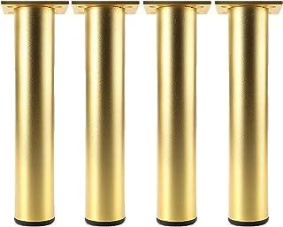 Verstelbare Meubelpoten Set van 4, Aluminium Sofa Voeten, DIY Metalen Tafelpoten, Industrieel Modern, voor Meubelvoeten zo...