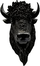 TG,LLC Treasure Gurus North American Wild Bison Head/Resin Buffalo Mount/Man Cave Fake Taxidermy Bust