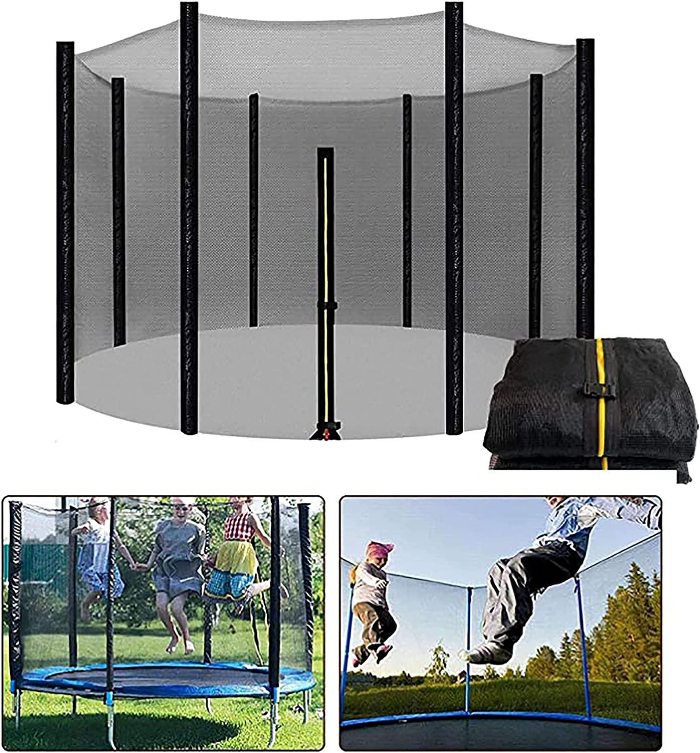 Qasole Discount is also underway Safety Net for sold out Trampolines Durable O Replacement