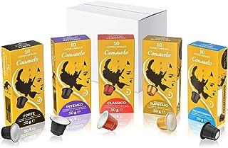 comprar comparacion Consuelo - cápsulas de café compatibles con Nespresso* - Kit de degustación, 50 cápsulas (5x10)