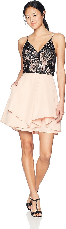 A. Byer Women's Strappy Sweetheart Party Dress