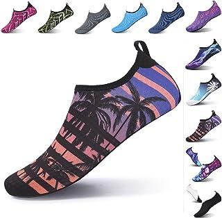 حذاء مائي واقي للجنسين من ال رن، بنمط بير فوت لانشطة الركض والغطس وركوب الامواج والسباحة واليوغا على الشاطئ