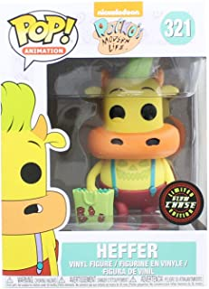 Funko Pop! Rocko's Modern Life Heffer #321 Collectible Vinyl Figure Glow in the Dark Chase Variant