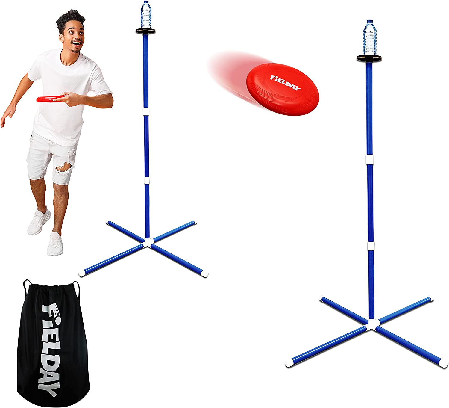 JOYIN Frisbee Game Set Outdoor Games Family Elegant Kids Adults for Fees free!! and