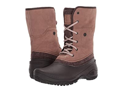 The North Face Shellista II Roll-Down (Caribou/Demitasse Brown) Women