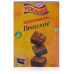 Funfoods Eggless Cake Mix Brownie, 250g