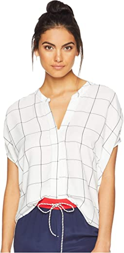 Jessica Window Pane Blouse