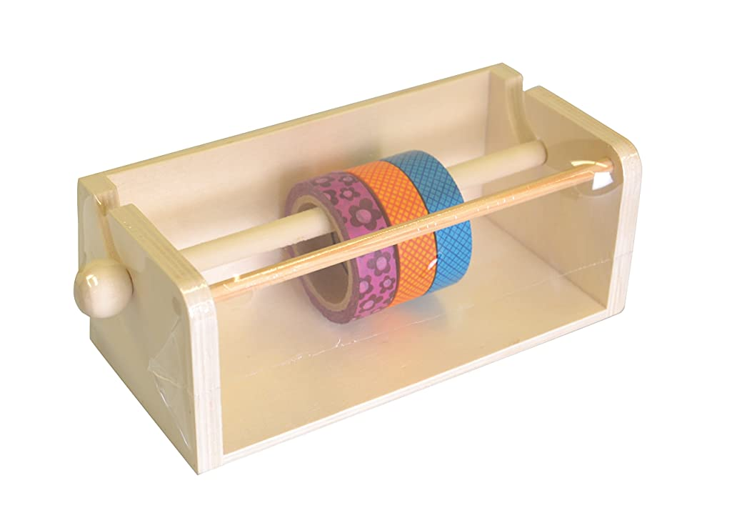 Artemio 14001697 Wooden Display for Masking Tapes
