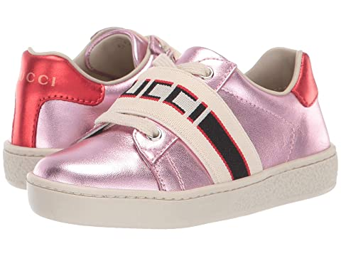 Gucci Kids GG Low Top Sneaker (Toddler)