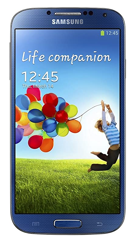 Samsung Galaxy S4 SGH-I337 Unlocked GSM Quad-Core Cell Phone w/ 13 MP Camera - Blue