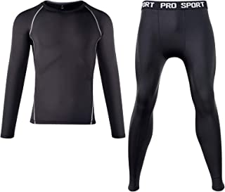 Thermal Underwear for Men S/M/L Base Layer Men Cold Weather Long Johns Sets