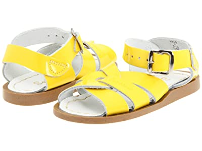 Salt Water Sandal by Hoy Shoes The Original Sandal (Infant/Toddler) (Shiny Yellow) Girls Shoes
