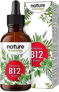 Vitamin B12 Droppar - 75 ml (1950 Veganska Droppar) - 2 Former (Metyl- & Adenosylkobalamin) - Utan Alkohol - Hög Biotillgä...