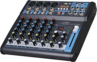 Audio 2000s Audio Mixer Sound Board (6-Channel Bluetooth)