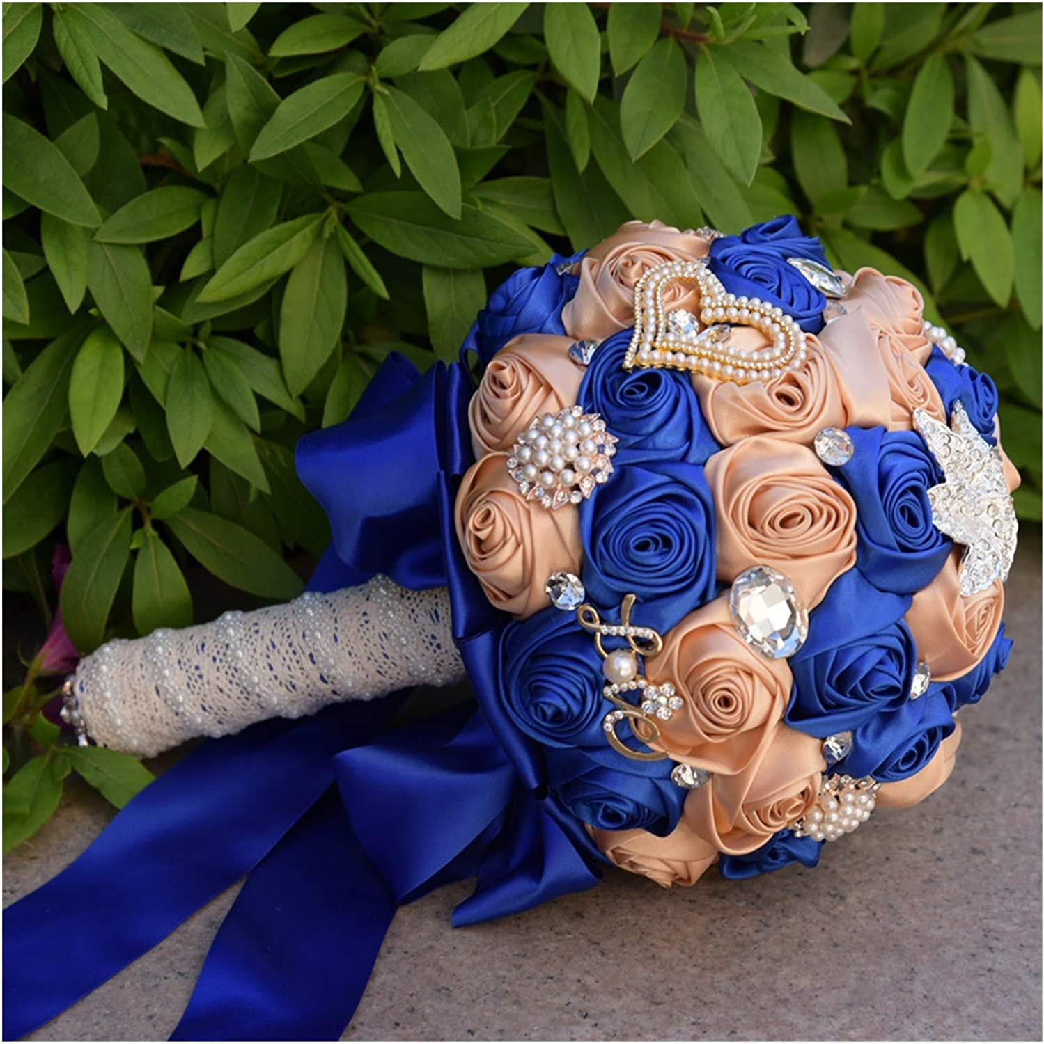 In a popularity JSJJAES Artificial Flowers 2021 Wedding Hand Made Bouquets
