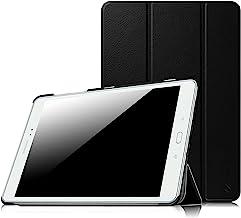"""FINTIE Samsung Galaxy Tab A 9.7 Custodia - Ultra Sottile di Peso Leggero Tri-Fold Smart Case Cover Sleeve con Funzione Sleep/Wake per Samsung Galaxy Tab A 9.7"""" SM-T550 / SM-T555 Tablet, Nero"""