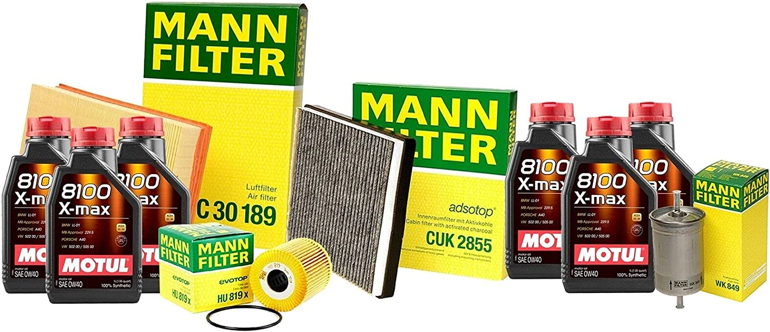 6L Washington Mall 8100 X-MAX 0W40 Oil Filter Volvo Compatible Service with famous kit