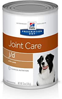 Hill's Prescription Diet j/d Joint Care with Lamb Canned Dog Food, 13 oz, 12-pack wet food