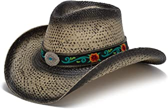 Stampede Hats Women's Hot Rock Floral Embroidered Western Hat
